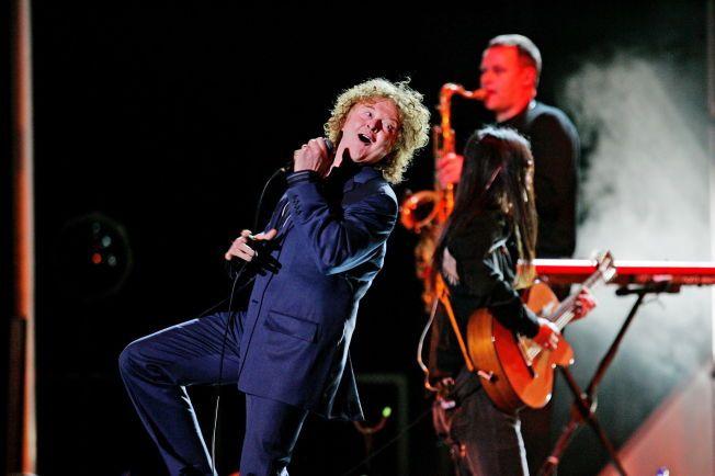 LEGENDER: Mick Hucknall og Simply Red - her på scenen i Oslo Spektrum i 2006.