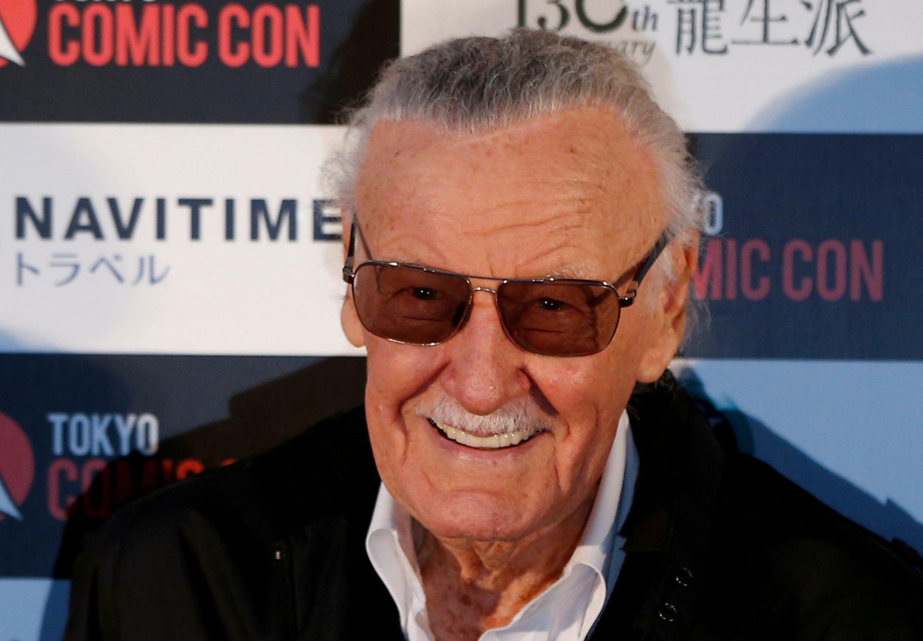 DØD: Datteren bekrefter at Stan Lee døde på sykehuset.