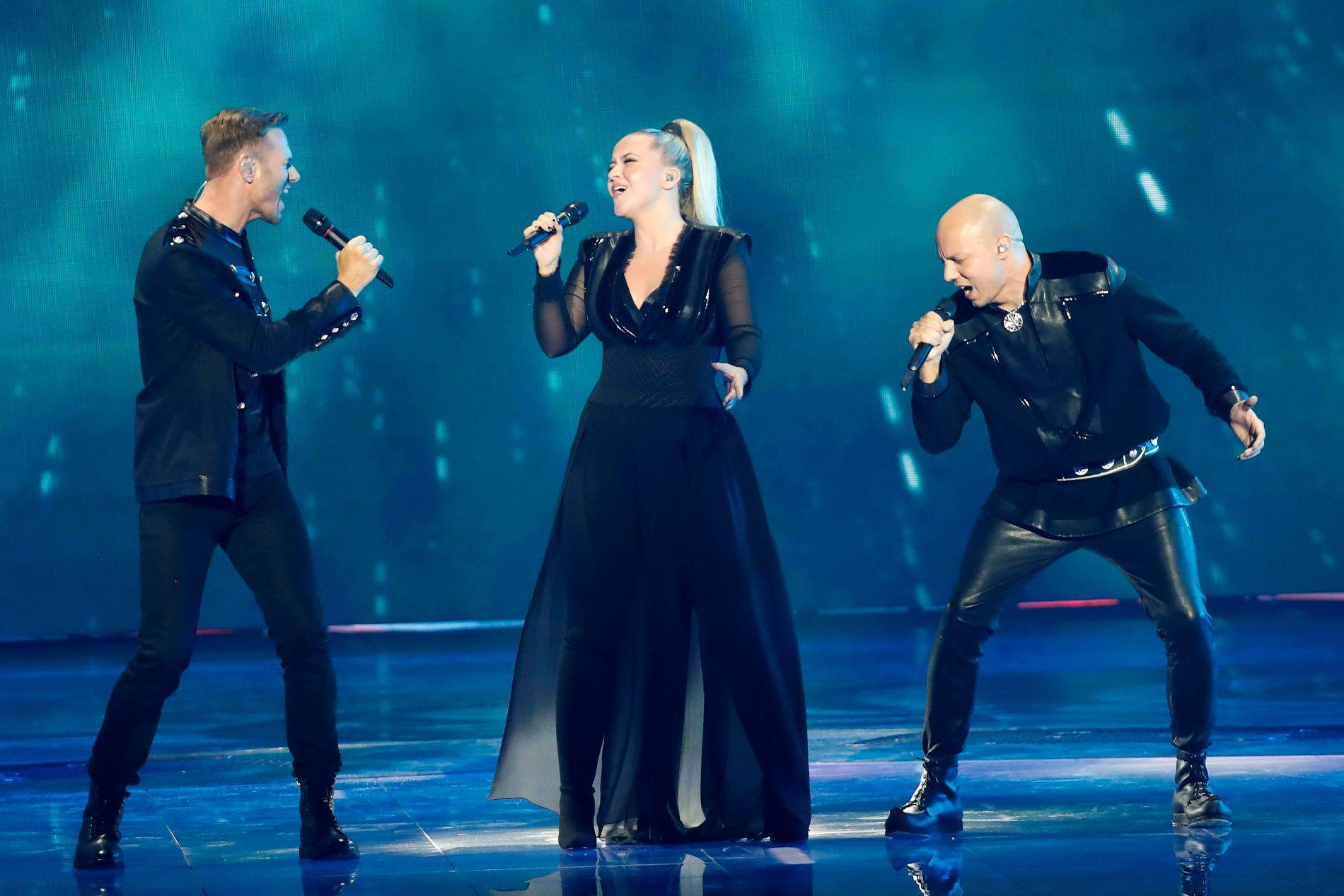 FOLKFAVORITT: KEiiNO fikk flest publikumsstemmer i Eurovision-finalen.