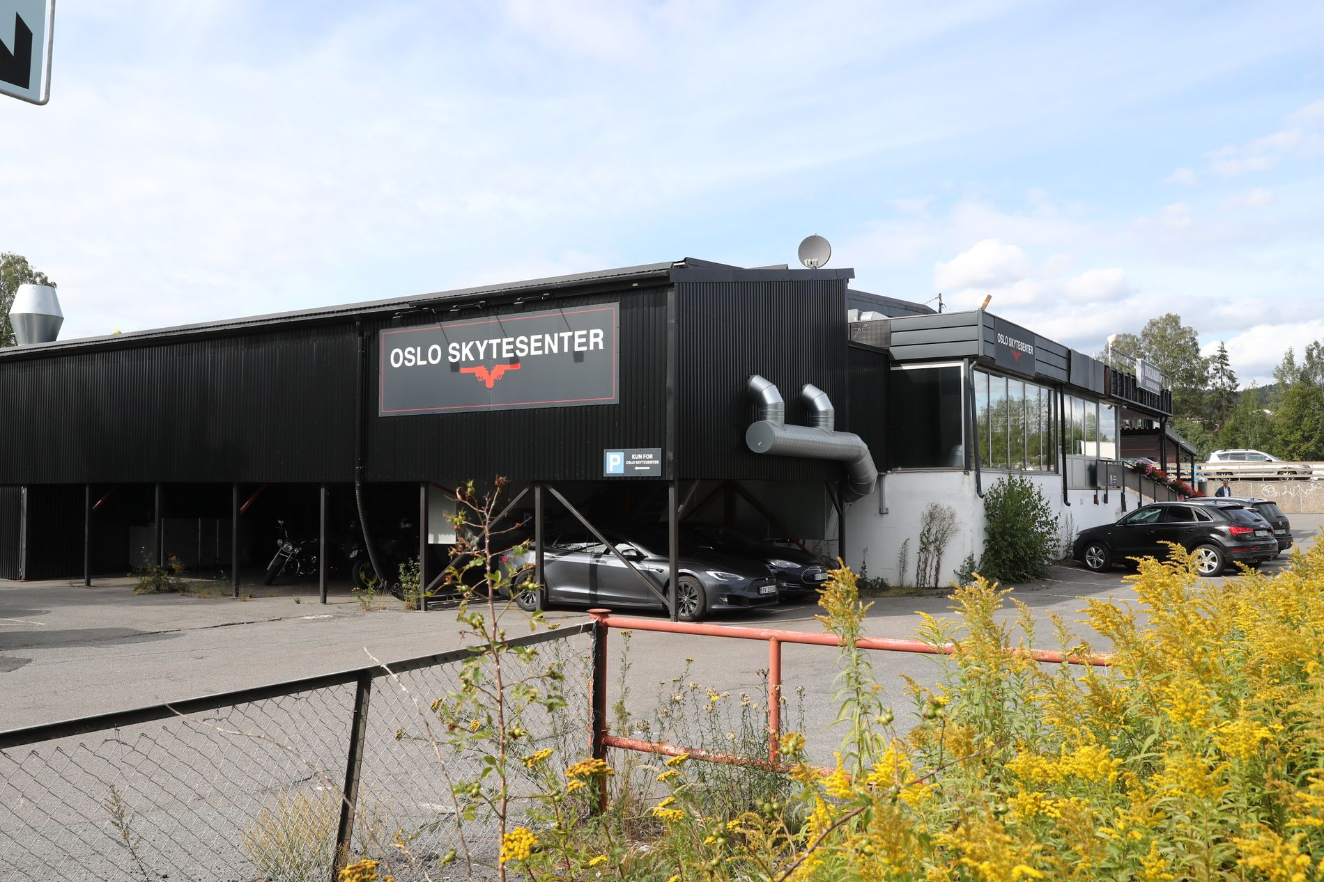 MEDLEM: Philip Manshaus var medlem i Stor-Oslo Skyteklubb siden 2018. Her Oslo Oslo skytesenter, som klubben har kontrakt med.