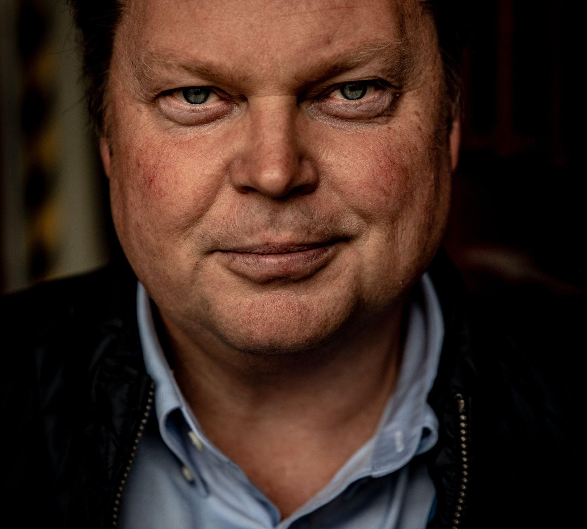 Jørn Lier Horst fra da han var aktuell med boken «Det innerste rommet» i 2018.