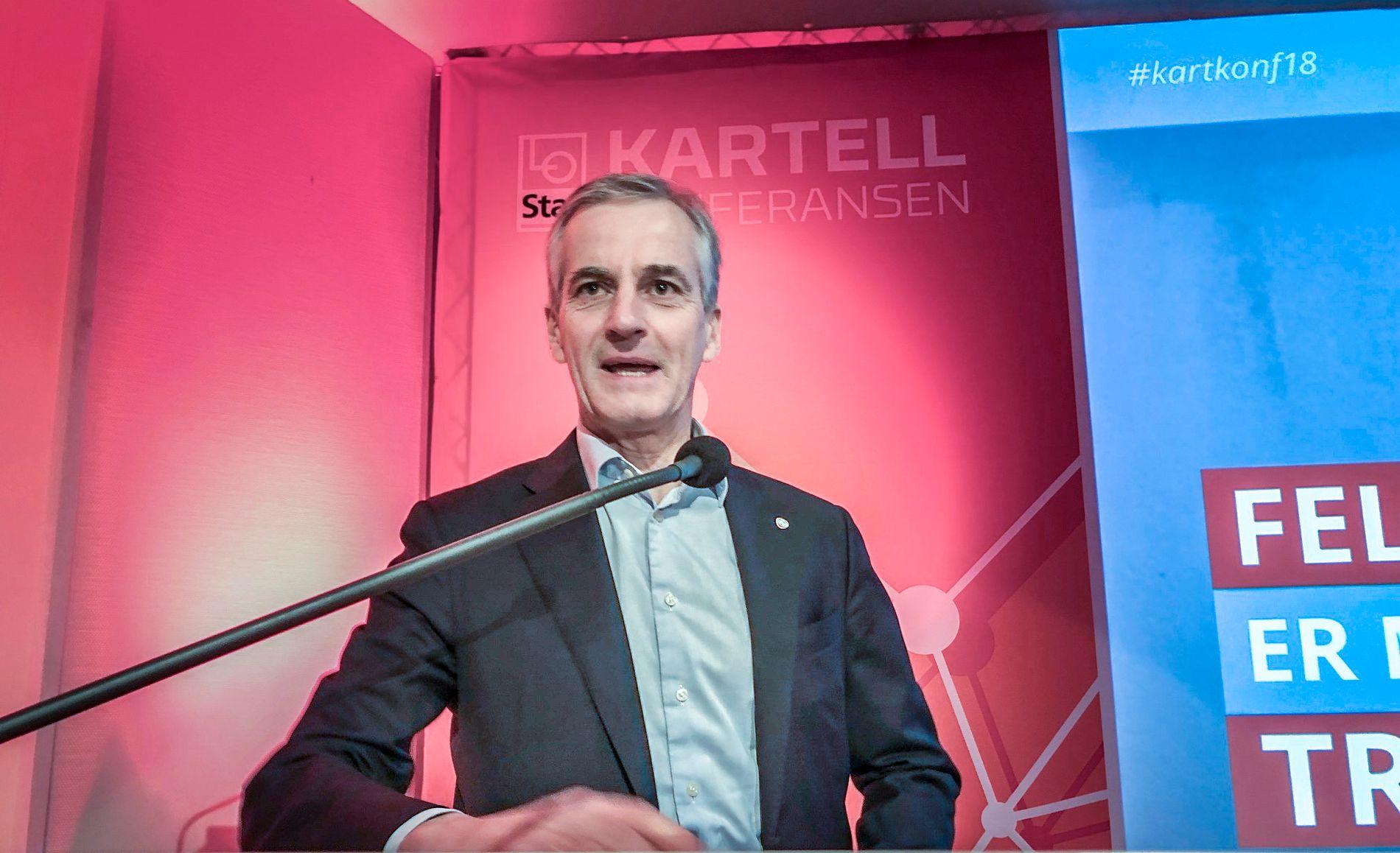 ALLE PÅ NETT? – Alle de skandinaviske landene skal over på 5G-nett, og vi har alle ambisjon om å holde oss i den digitale eliteserien. Skal vi gjøre det hver for oss, eller tenke samarbeid, spør Ap-lederen.
