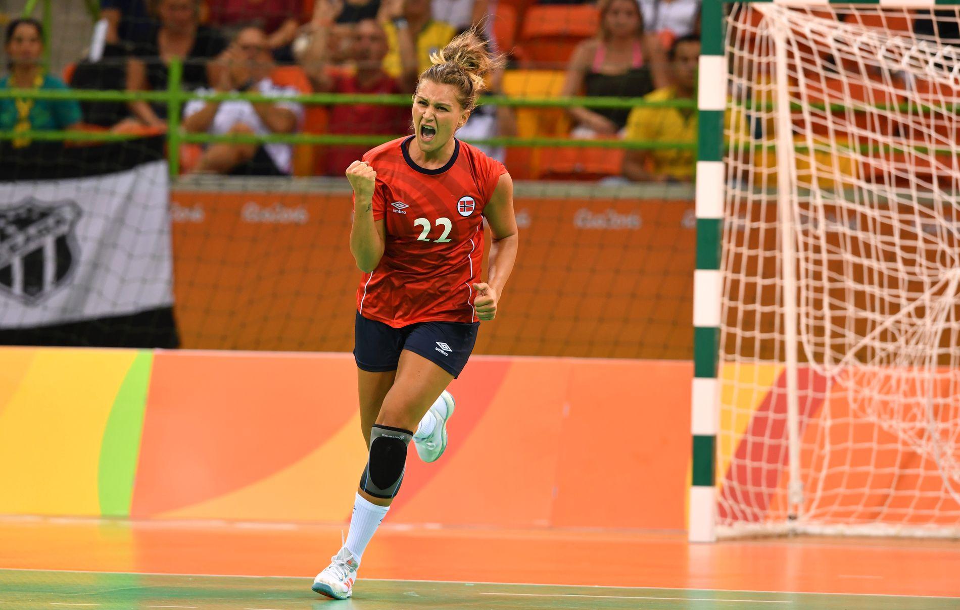 BYTTER KLUBB: Amanda Kurtovic bytter klubb fra rumenske CSM Bucuresti til ungarske Györ.