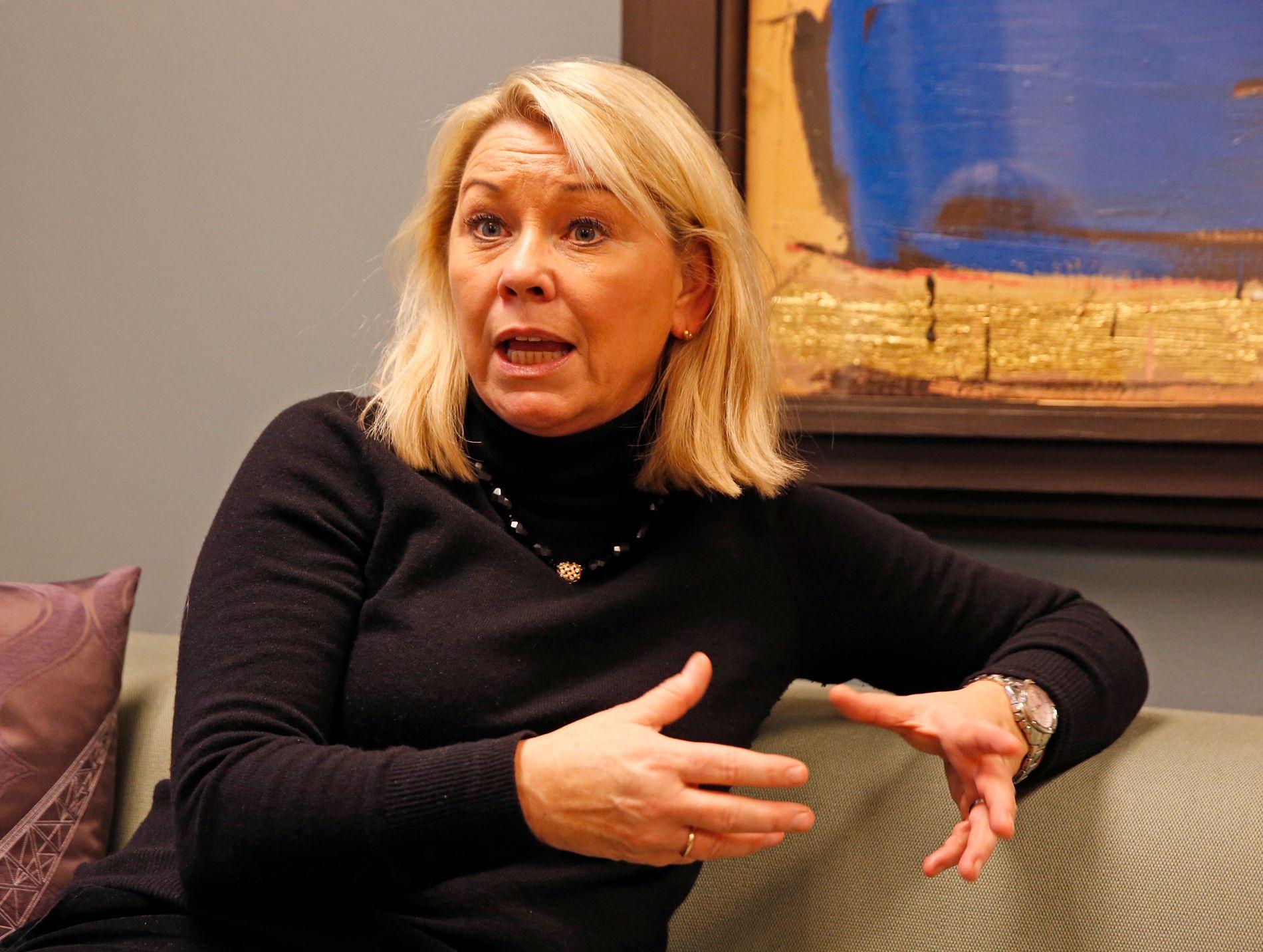 FRONTER EN SAMMENSLÅING HUN ER IMOT: Moderniseringsminister Monica Mæland.