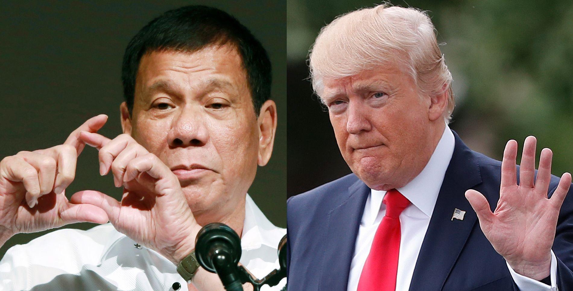 HAR IKKE TID: President Rodrigo Duterte har mye å gjøre i år og er usikker på om han rekker å besøke president Donald Trump.