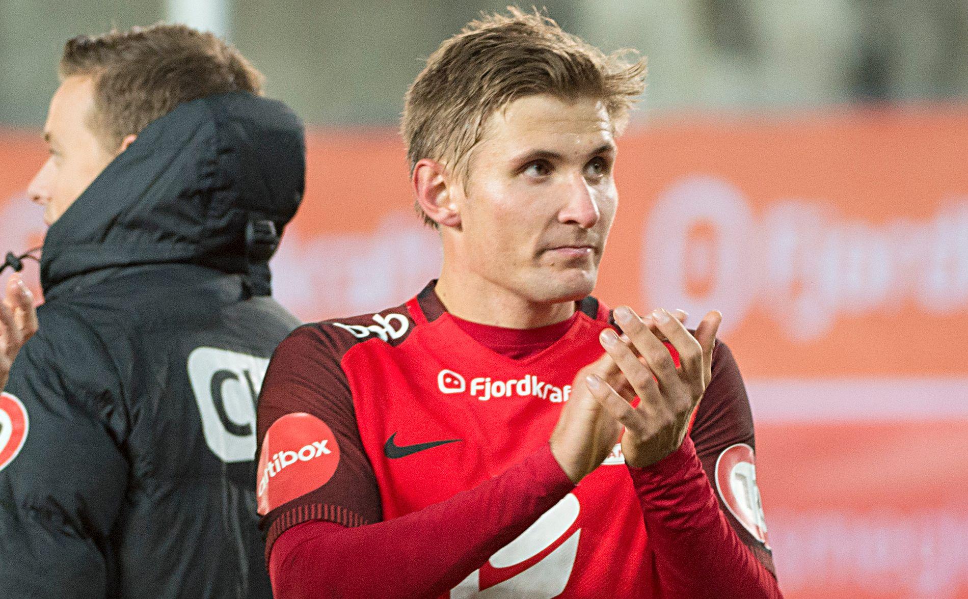 SPORTSLIG SUKSESS: Steffen Lie Skålevik og Brann er i vinden sportslig sett.