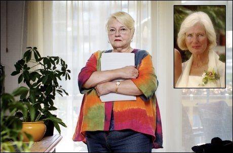 OMSTRIDT: Marit Christensen og Wenche Behring Breivik (innfelt) signerte begge avtalen som ga Christensen tillatelse til å fullføre bokprosjektet. Foto: Espen Rasmussen/Privat