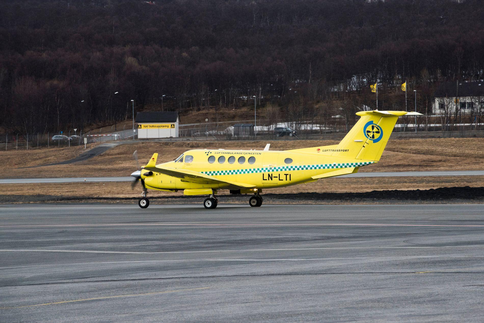 KONFLIKT: Siden mars har det vært forhandlinger mellom Babcock og norsk flygerforbund for å få til en overgang av ambulanseflygere fra Lufttransport.Foto: Frode Hansen