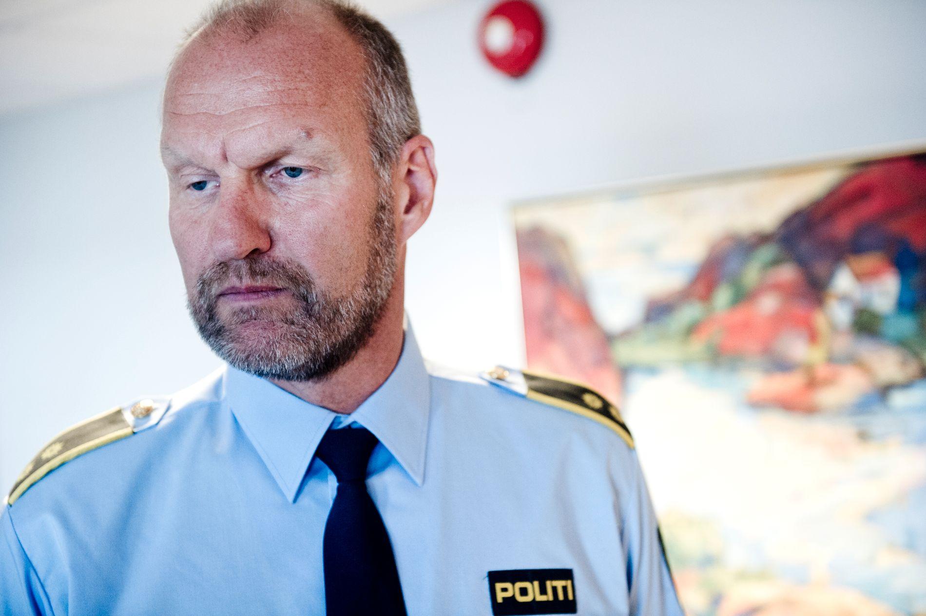 KJENNING: Krimsjef ved Larvik politistasjon forteller til Østlandsposten at den eldre kvinnen er en kjenning av politiet gjennom mange år, og at hun har opparbeidet seg et solid rulleblad.