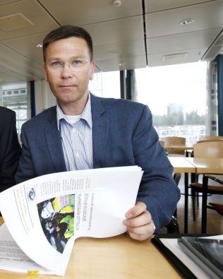 PROSJEKTLEDER: Svein Holtan mener Rygge er som skreddersydd som treningssenter for politiet på Østlandet - ikke minst med sin nære beliggheten til Oslo.Foto: TROND SOLBERG