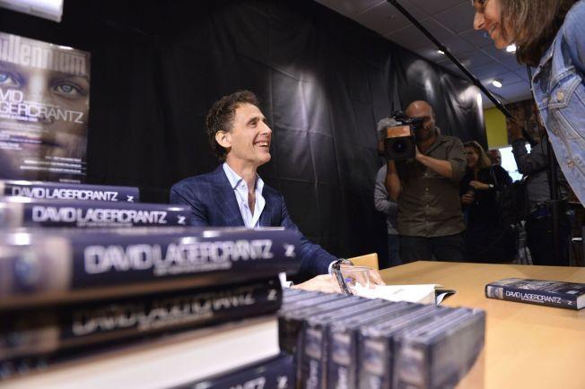 ANMELDELSE: David Lagercrantz med ny bok.