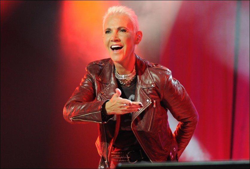 FRISK: Marie Fredriksson sto i 2012 på scenen foran 1,4 millioner publikummere over 142 konserter - mot alle odds. Her fra Birmingham i juni. Foto: Wenn.com.