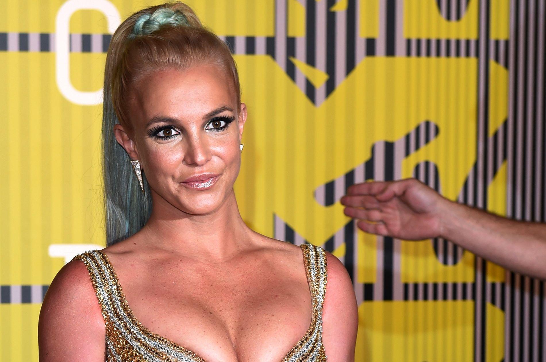 POP-PRINSESSE: Britney Spears på MTV Video Music Awards i Los Angeles for seks måneder siden.