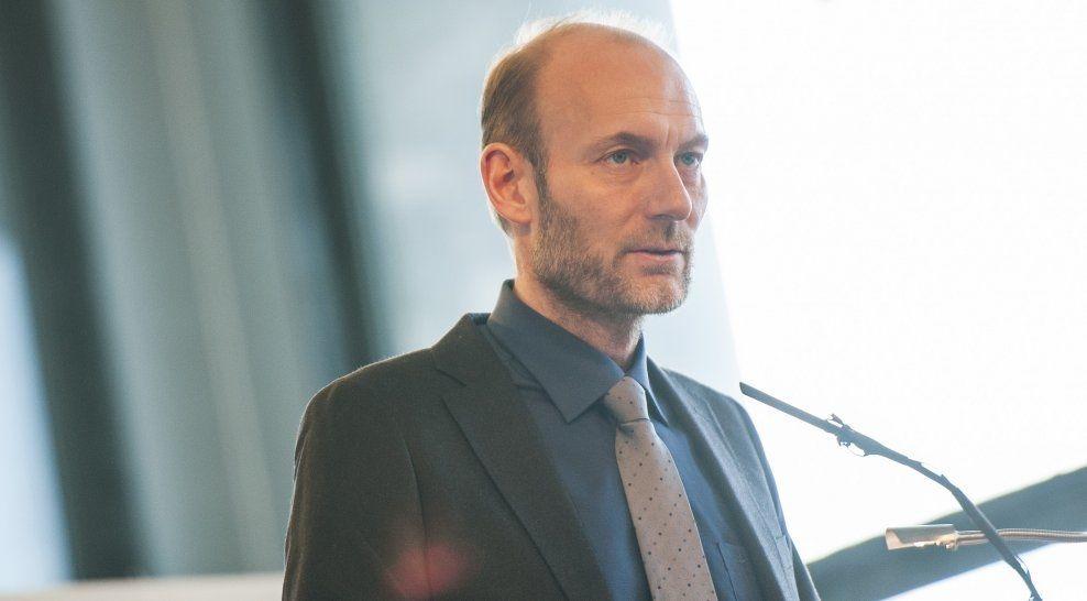 NY JOBB VENTER: Knut Olav Åmås gir seg som statråd etter bare litt over syv måneder. Foto: Scanpix