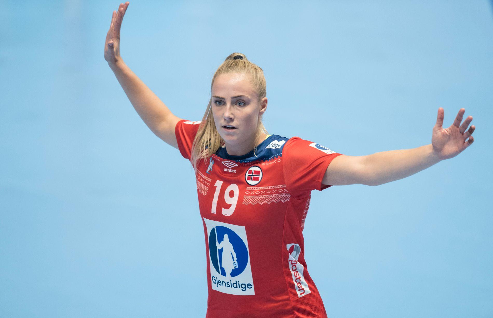 MESTERSKAPSDEBUT: Moa Högdahl kan få sin mesterskapsdebut for Norge.