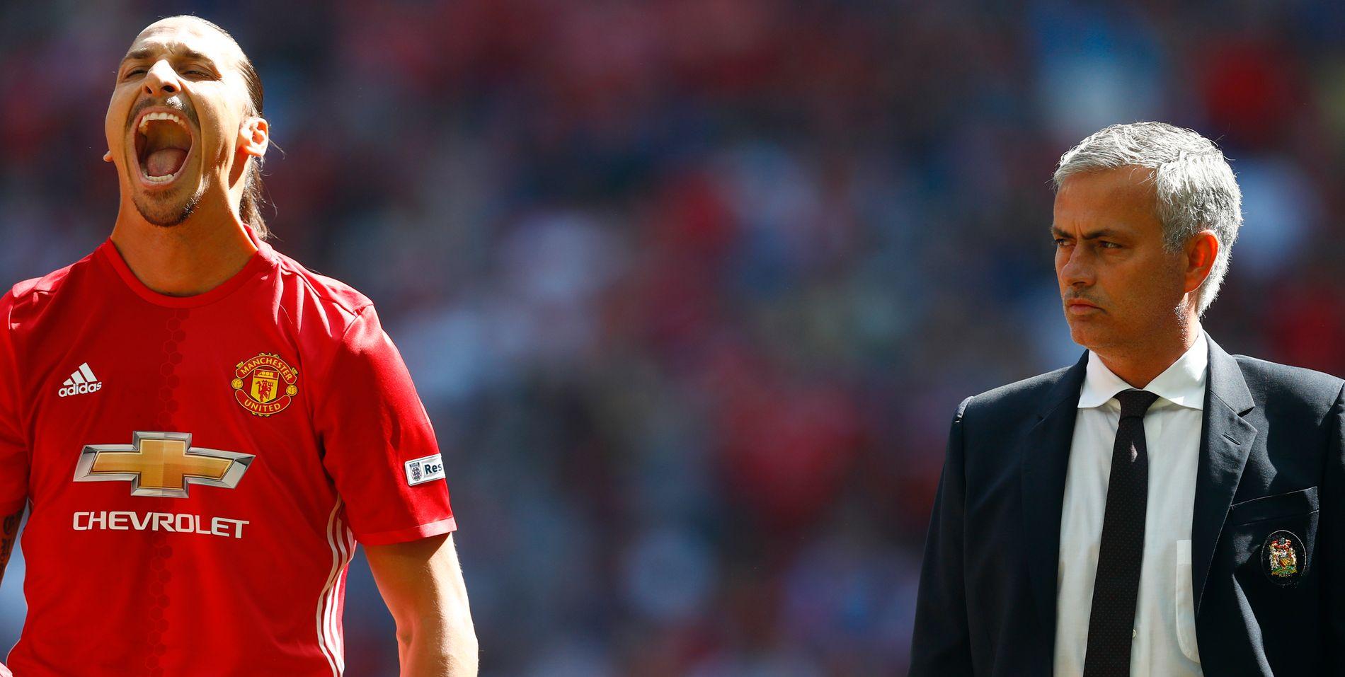 IKKE OVER? José Mourinho kan ha gjort helomvending, og nå kan det se ut som samarbeidet mellom ham og Zlatan Ibrahimovic fortsetter.
