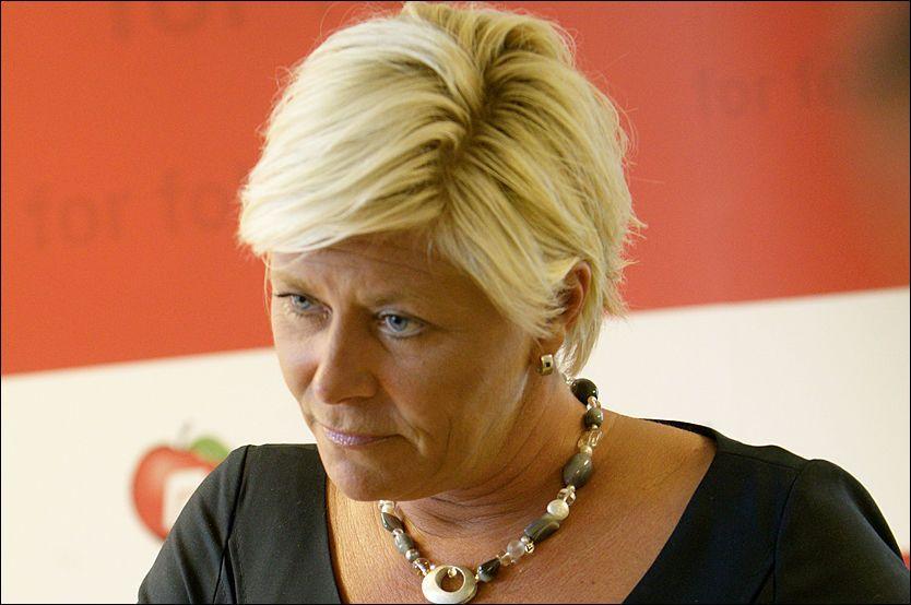 UTFOR: Valgkampen går ikke Siv Jensens vei. Kritikken hagler og velgerne svikter. Foto: Scanpix