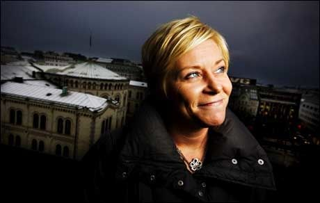 PINLIG: -Det blir flaut om Siv jensen blir statsminister, mener SVs nestleder Bård Vegar Solhjell. Foto: RICHARD ERIKSEN