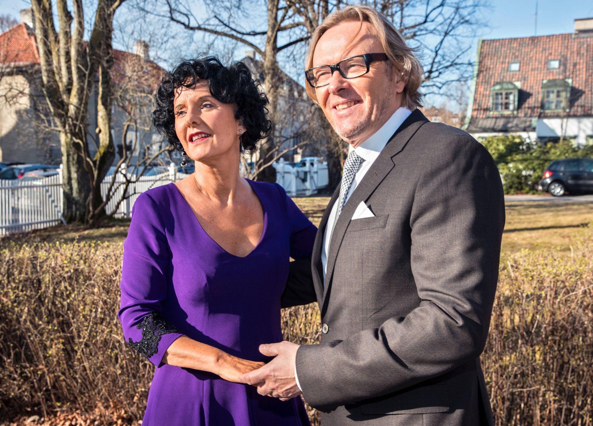 SAMMEN I 43 ÅR: Unni og ektemannen Per Christian Garnæs. – Jeg føler vi har vært sammen hele livet, sier han.