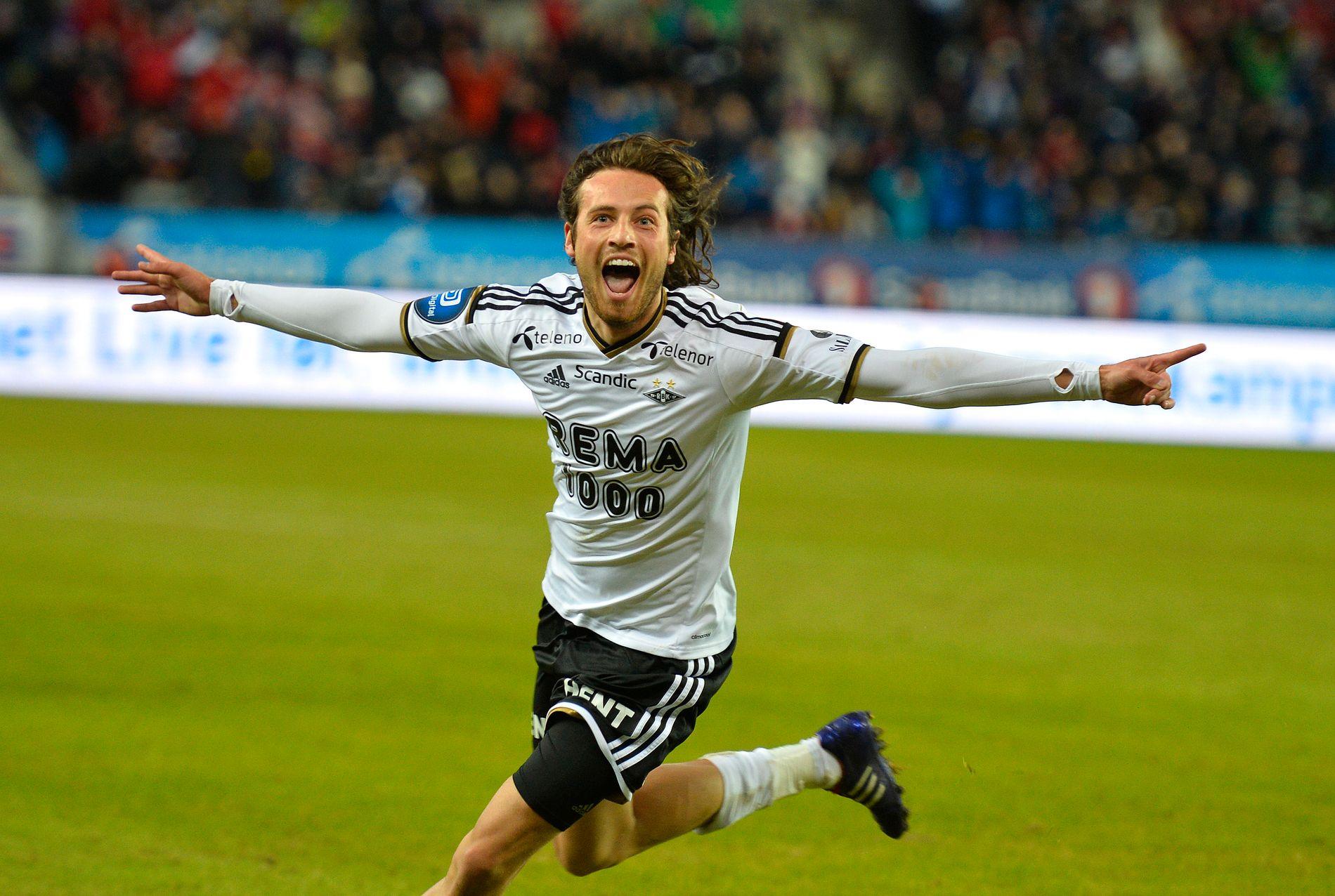 KOM FRA RBK: Kontrakten med Rosenborg hadde gått ut da Diskerud vendte kursen mot amerikansk fotball. I dag er han i Sør-Korea.