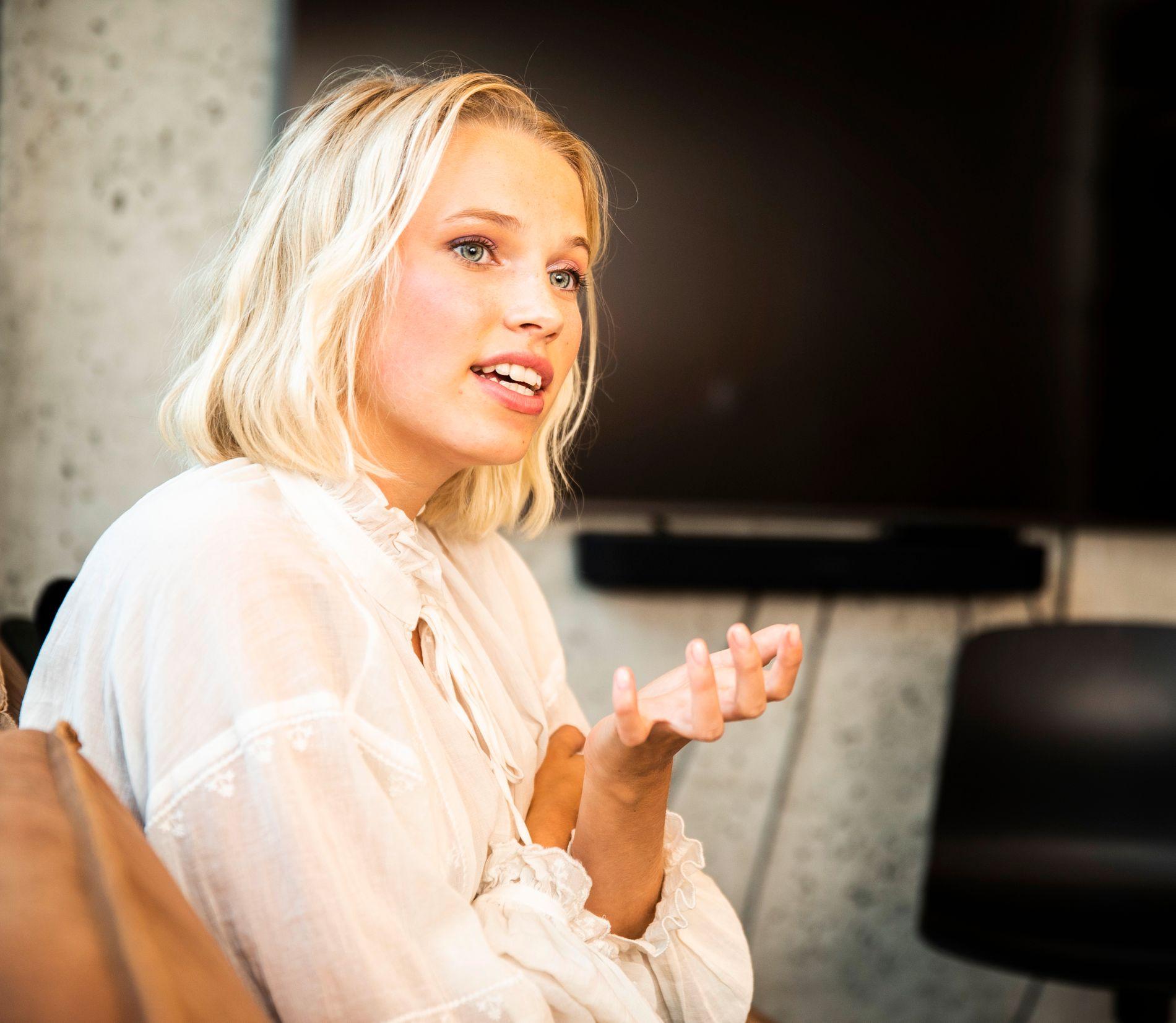 TV-AKTUELL: 22 år gamle Thea Loch Næss er aktuell i en ny TV 2 Sumo serie.