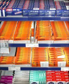 FORSKJELLIGE NAVN: I Norge markedsføres paracetamol under forskjellige navn, med en rekke forskjellige fremstillingsformer av legemiddelet. Foto:Scanpix