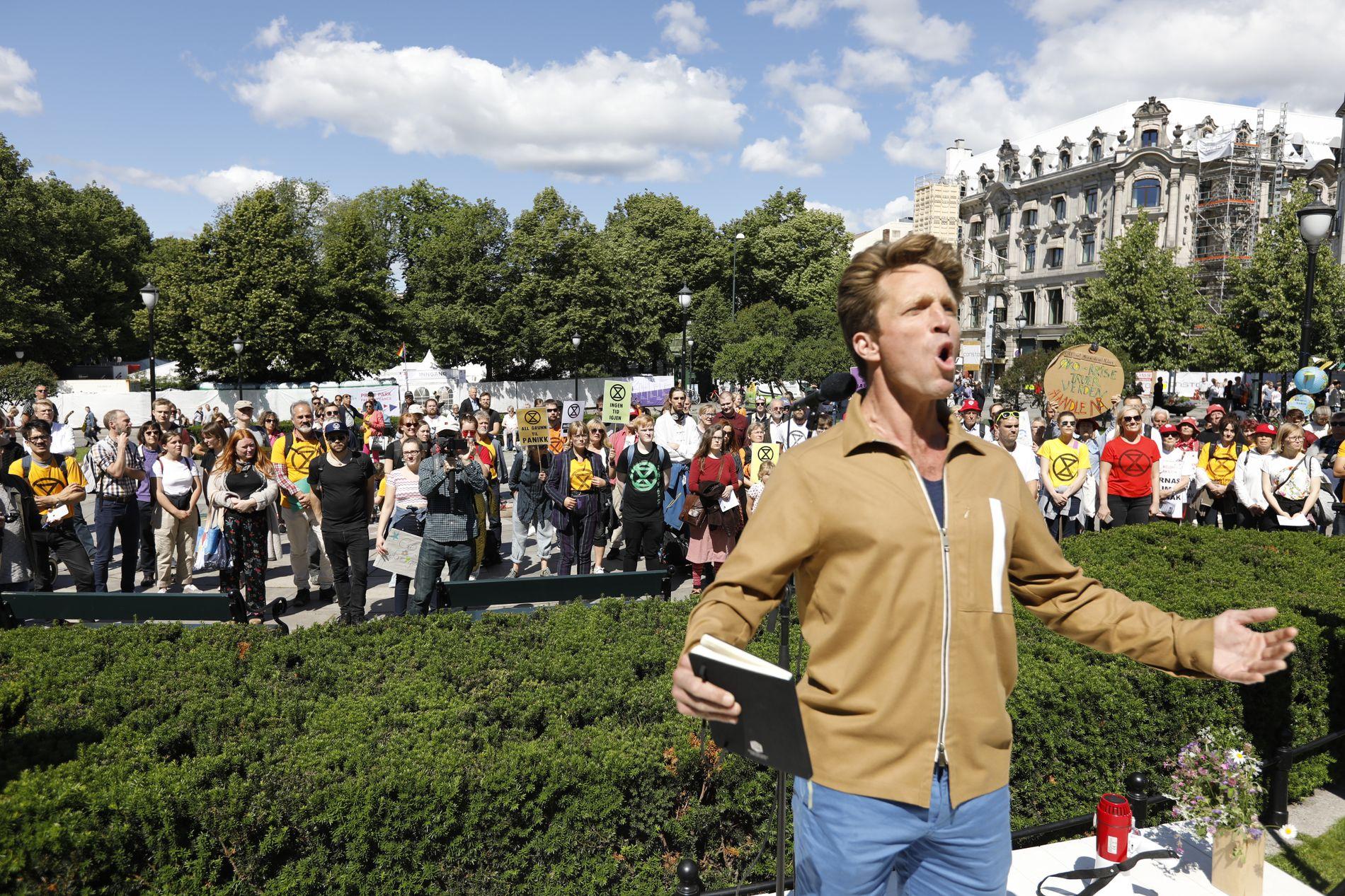 Et fire år langt klimabrøl venter Stortinget