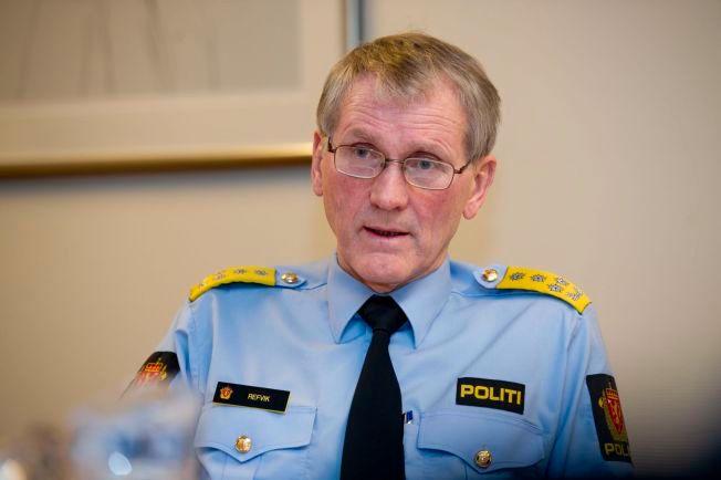 ASSISTERENDE POLITIDIREKTØR: Vidar Refvik.