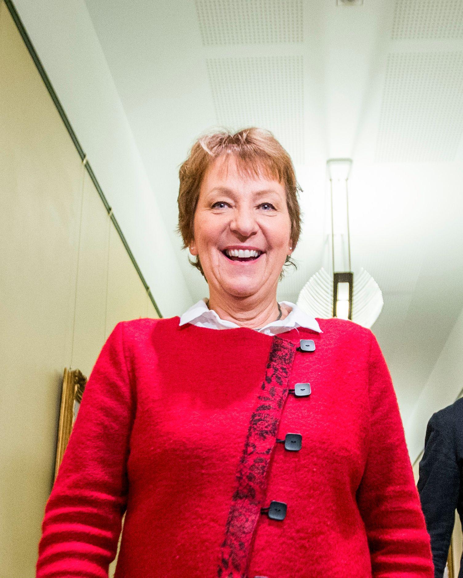SKAL VIE: Oslo-ordfører Marianne Borgen (SV) skal ifølge den vordende bruden vie Olav Thon og Sissel Berdal Haga.