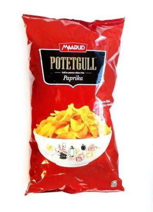 POTETGULL: Maarud ønsker ikke at betegnelsen «potetgull» skal brukes om andre typer potetchips enn deres egne. Foto: FORBRUKERRÅDET
