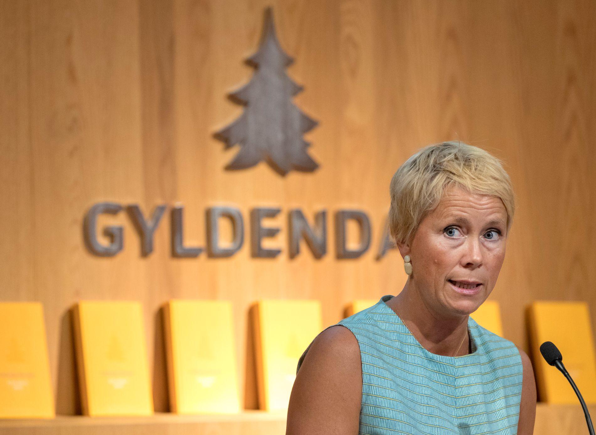 VIL HA ÅPENHET: Sjefredaktør Kari Marstein i Gyldendal ber Bokhandlerforeningen om å publisere salgstall.