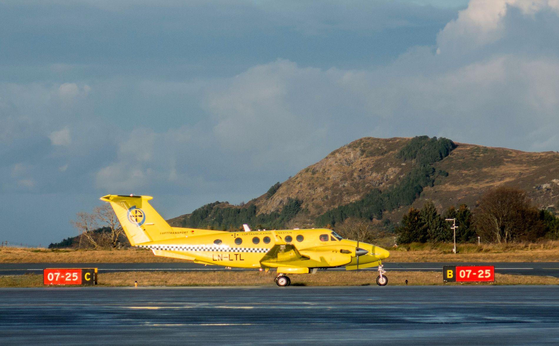 PÅ BAKKEN: Fredag måtte alle fly settes på bakken etter at forhandlingene mellom Flygerforbundet og selskapet som skal fly for Luftambulansetjenesten fra neste sommer, strandet.