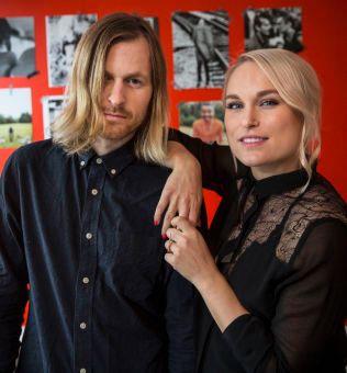 STJERNEPAR: Thomas Stenersen og Eva Weel Skram er Eva & The Heartmaker».
