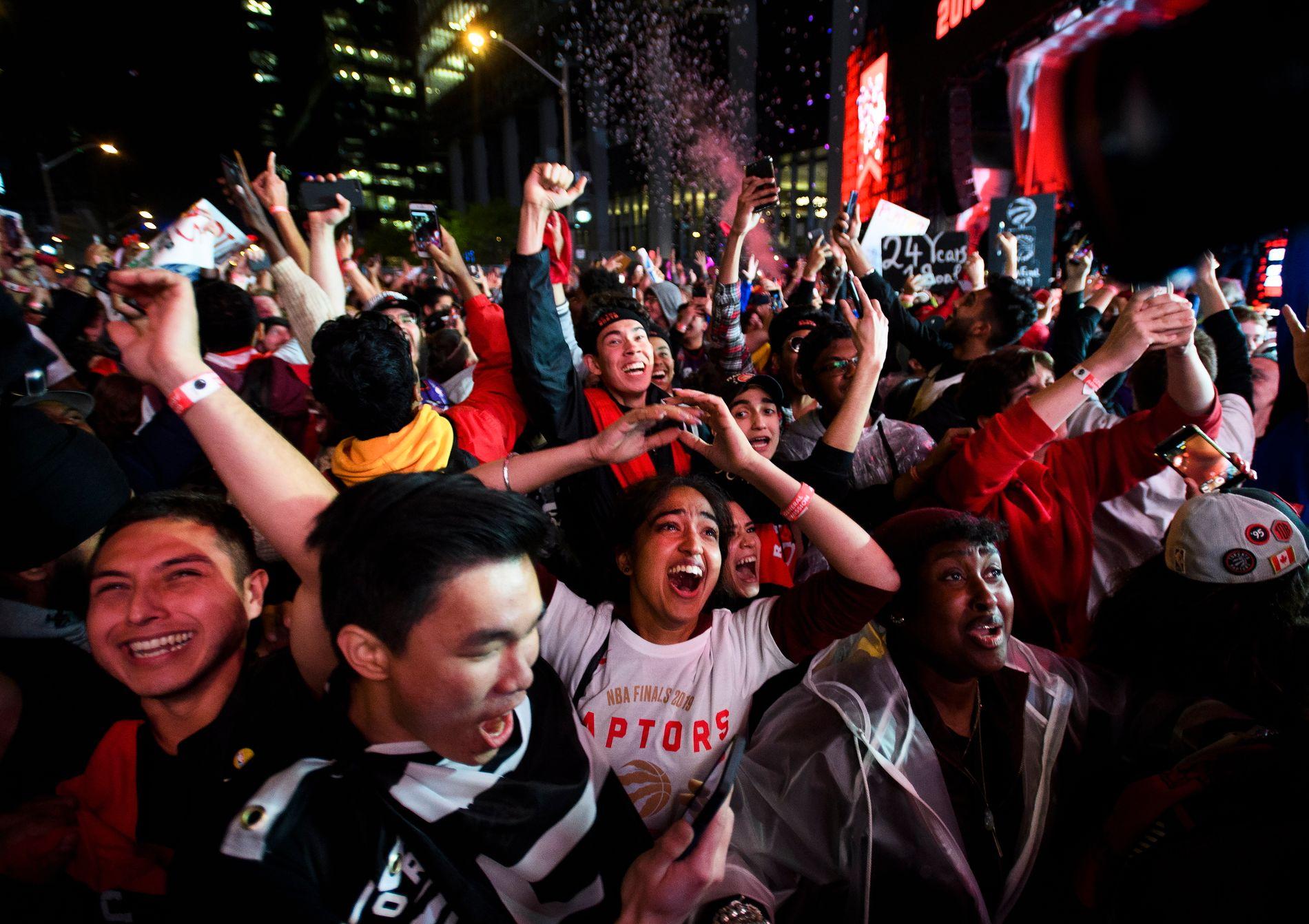 WE THE NORTH: Toronto Raptors er Canadas eneste NBA-lag. De bruker slagordet «We the north».
