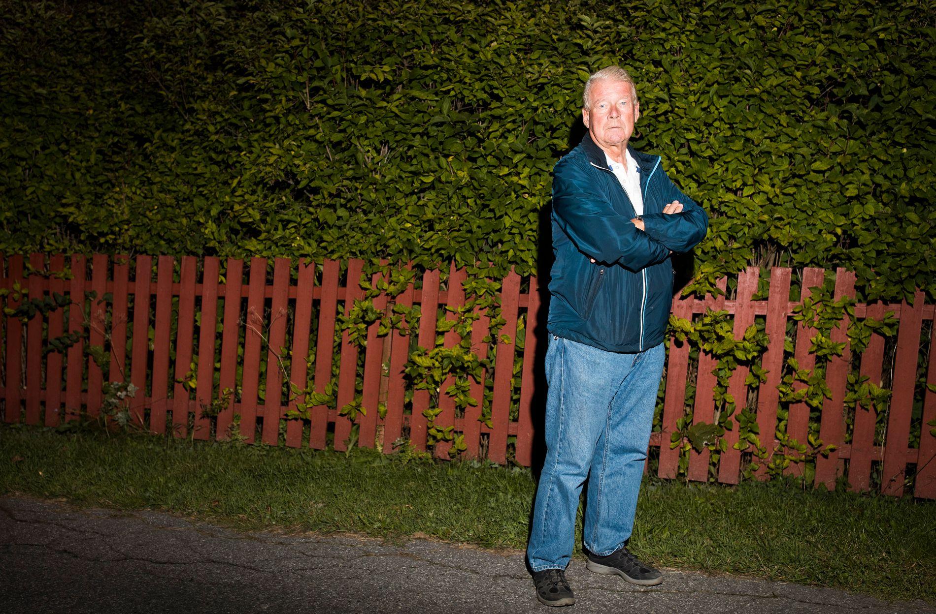 ADVARER SINE EGNE: Tidligere formann i Frp, Carl I. Hagen, varsler at et forsiktig Frp kan få et konkurrerende opprørsparti å slite med.