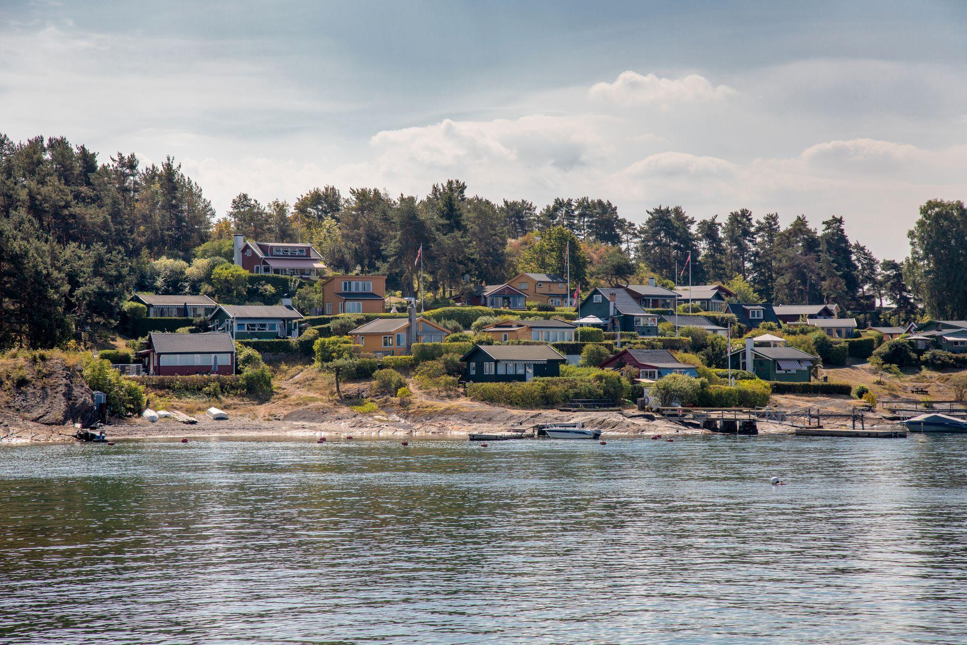 MEST POPULÆRT: Hyttene rundt Oslofjorden er populære blant tyvene. Høy tetthet av lett tilgjengelige hytter