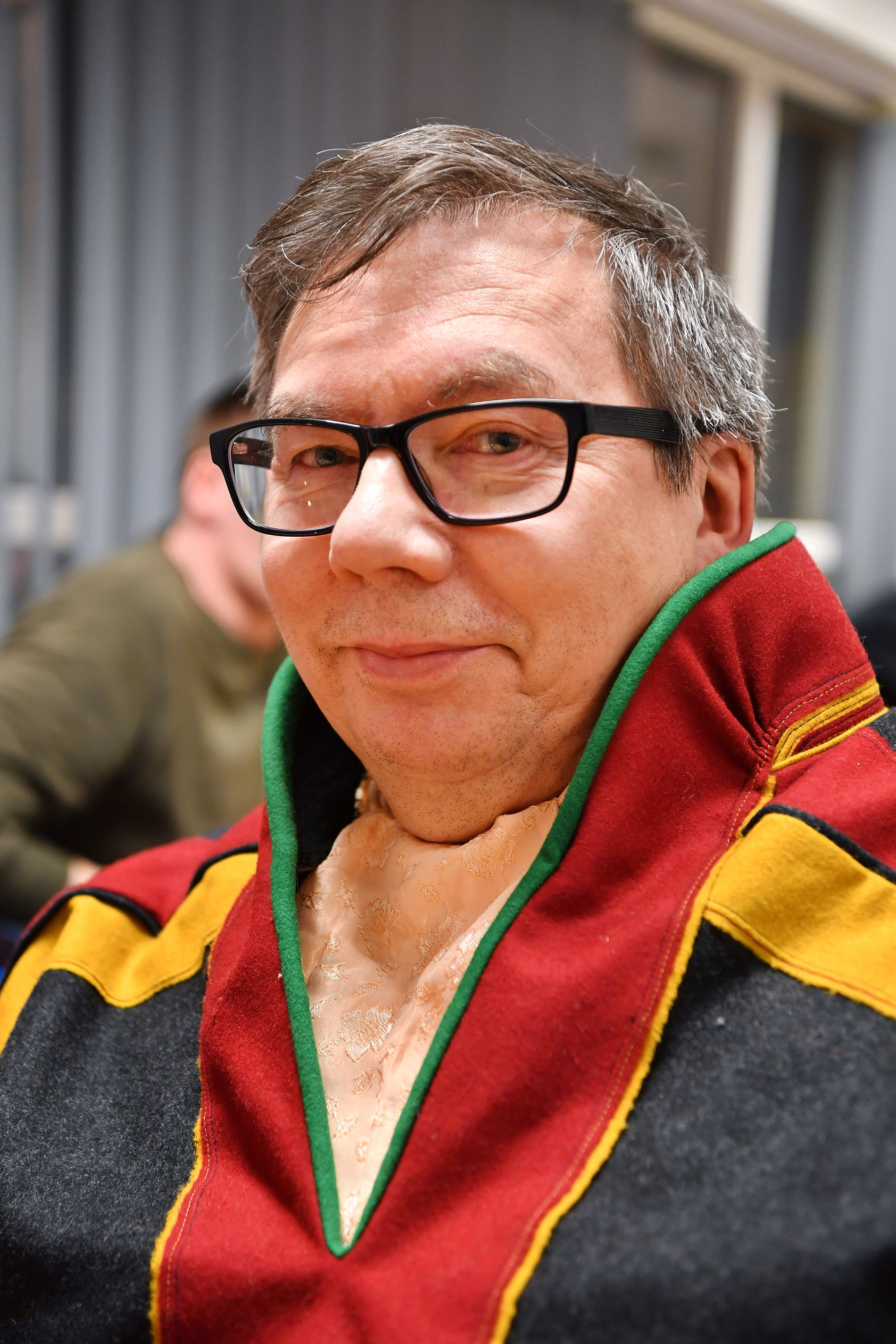 OPPTATT AV IDENTITET: Viktor Trosten (63) mener dagens barn og unge har en helt selvsagt samisk identitet som mange ikke ville vedkjenne seg i tidligere tider.