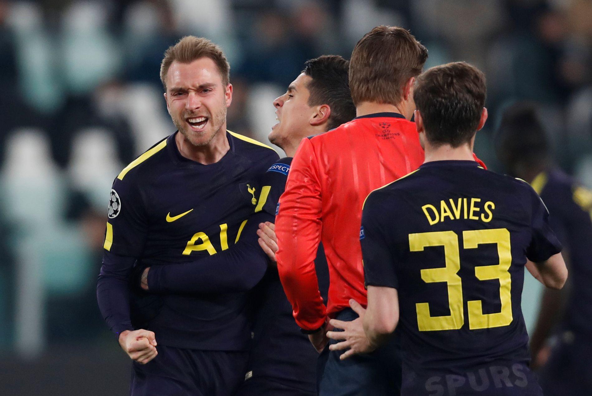 I FORM: Christian Eriksen scoret utligningsmålet til Tottenham mot Juventus i midtukens Champions League-kamp.