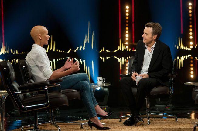 Første tv-intervju: Gunhild Stordalen besøker Fredrik Skavlan på fredag og forteller om kampen mot sykdommen.
