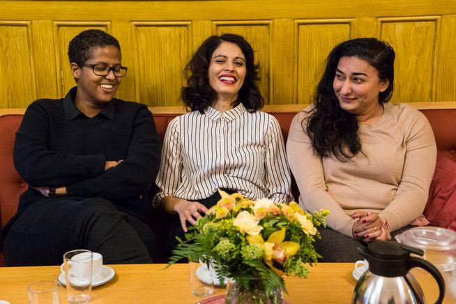 STIFTELSE: – Med «Født Fri» ønsker vi nå å vise vei. Et hjem for alle som står opp for individets frihet i fellesskapet, skriver Shabana Rehman Gaarder, med støtte fra Amal Aden og Iram Haq.