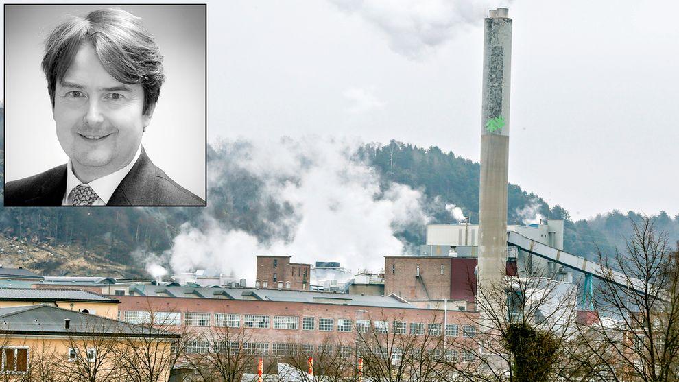 ERKJENNER IKKE TAP: Forvalter Arne Eidshagen i Forte Kreditt mener at det kan bli verdier til overs når de sikrede kreditorene i Norske Skog har fått sitt.