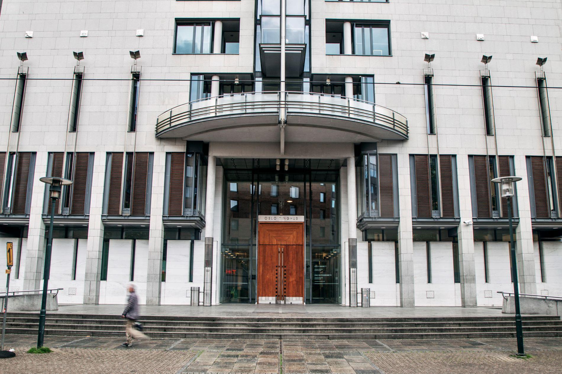 FENGSLET: Mannen ble fengslet i fire uker av Oslo tingrett.