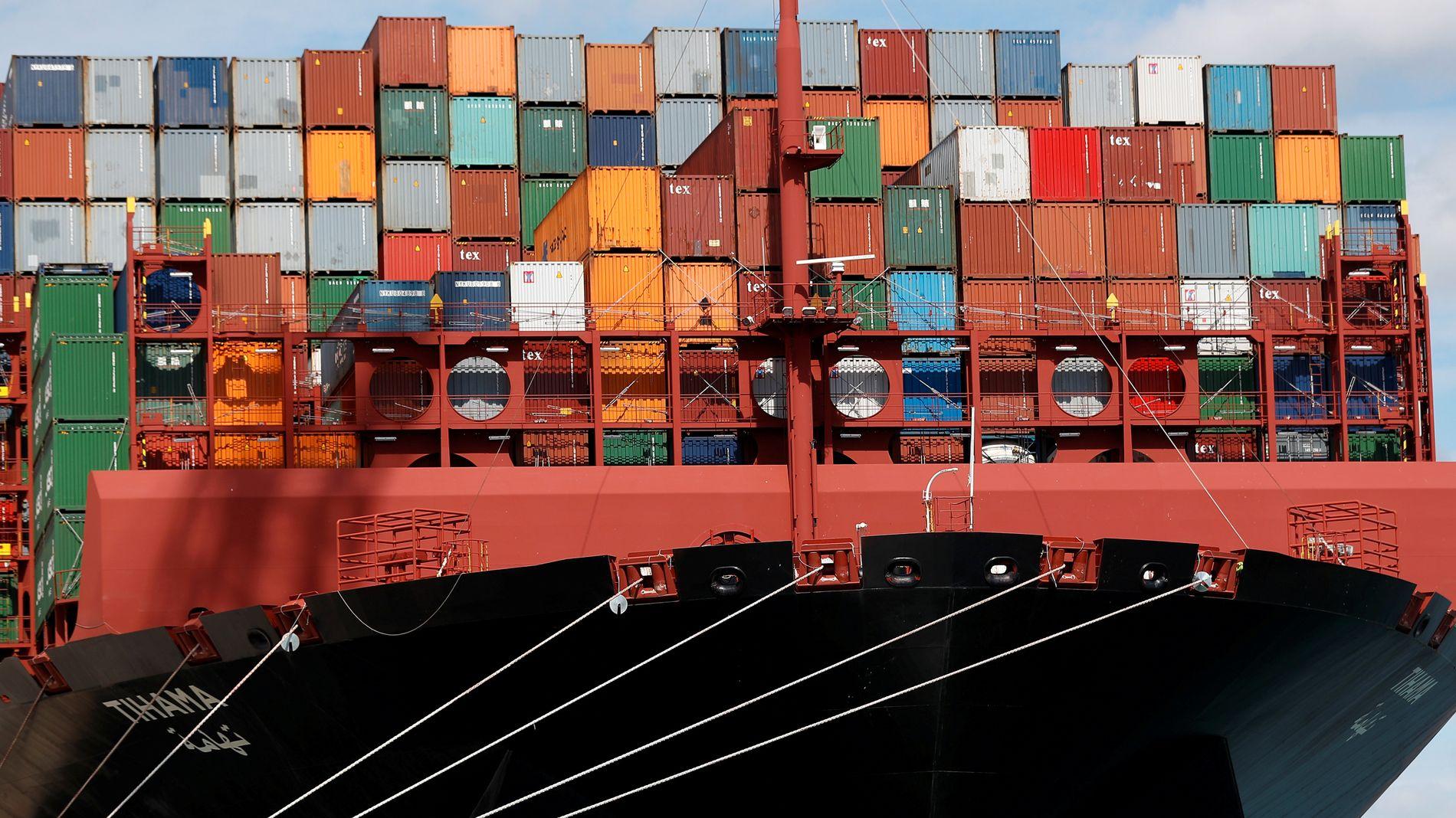 PRISER CONTAINERFRAKT: Xeneta gjør det enklere å finne den billigste prisingen på containerfrakt, og har flere giganter på kundelisten. Illustrasjonsbilde.