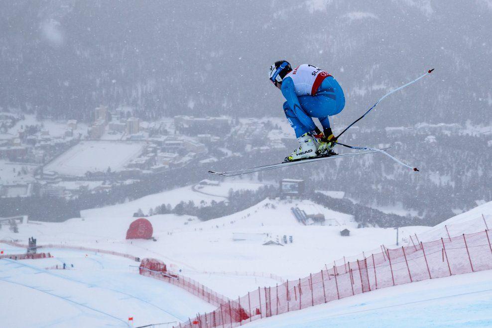 BRÅK I  ALPINLEIREN: Mens Kjetil Jansrud & co. deltar i VM, er uroen stor i ledelsen i alpin-Norge. Her er Jansrud i aksjon i St. Moritz denne uken.