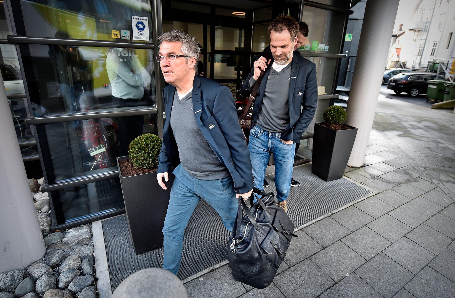 Kåre Ingebrigtsen og Erik Hoftun mislikte hvordan Rosenborg sendte dem på dør. Nå stevner de klubben for retten.