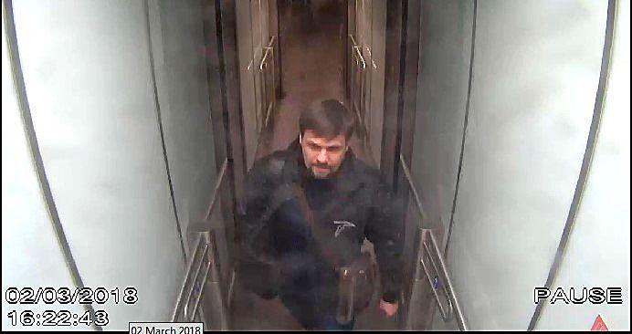 AGENT PÅ BRITISK JORD: Britisk politi mener at Ruslan Bosjirov er en av minst to russeren som står bak drapsforsøket på Sergej Skripal og hans datter Julia.