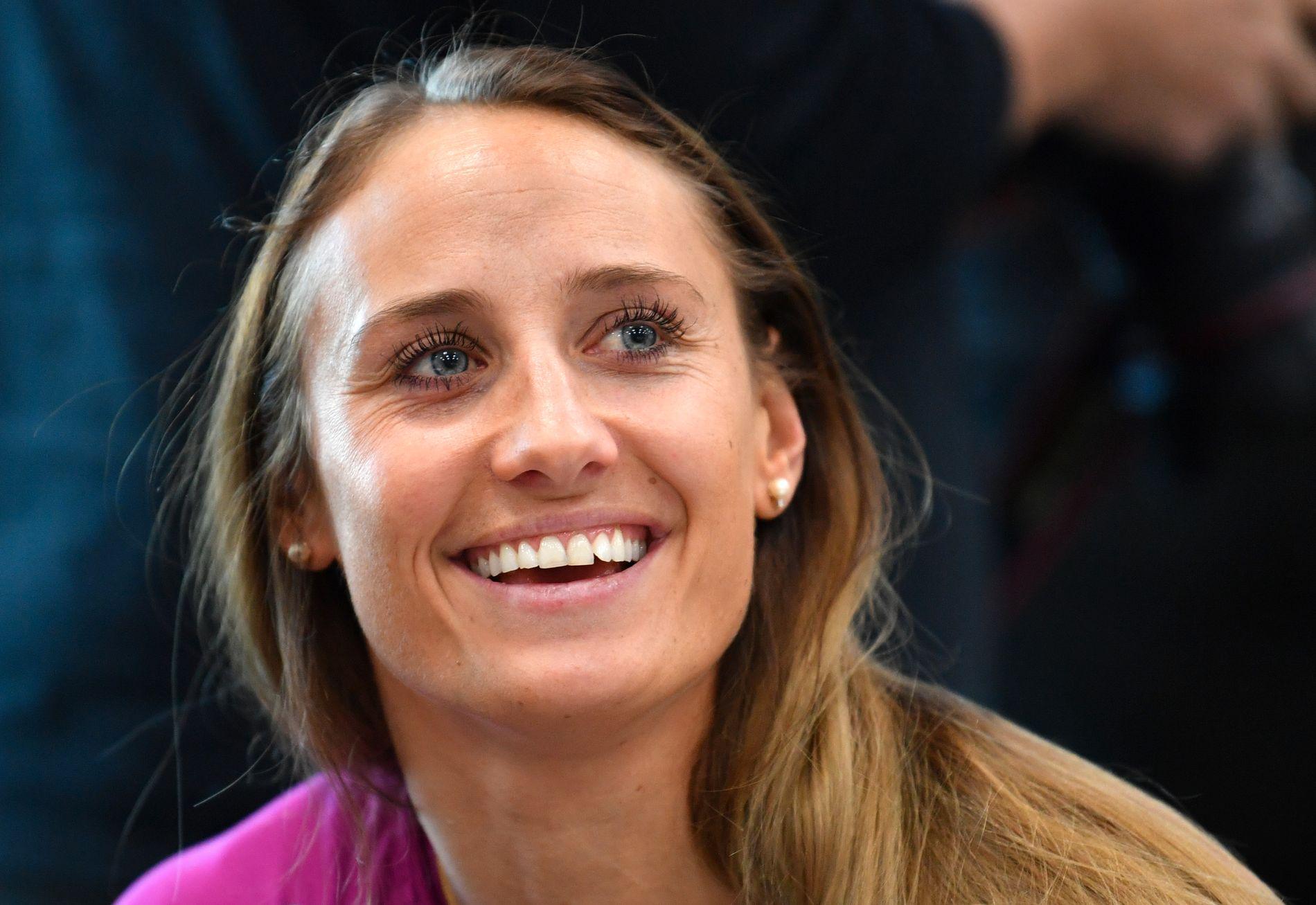 NETTKJENNING: Etter åtte måneder borte fra håndballen fikk Camilla Herrem nettkjenning igjen i kveld.
