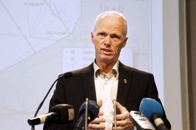 MÅ VÆRE FORSVARLIG: Generalløytnant Robert Mood tok til sosiale medier for å uttrykke sine tanker rundt norsk politis beredskap, og skrev at han håpet at «våpentreningen står i forhold til den voldsomme beredskapen.»