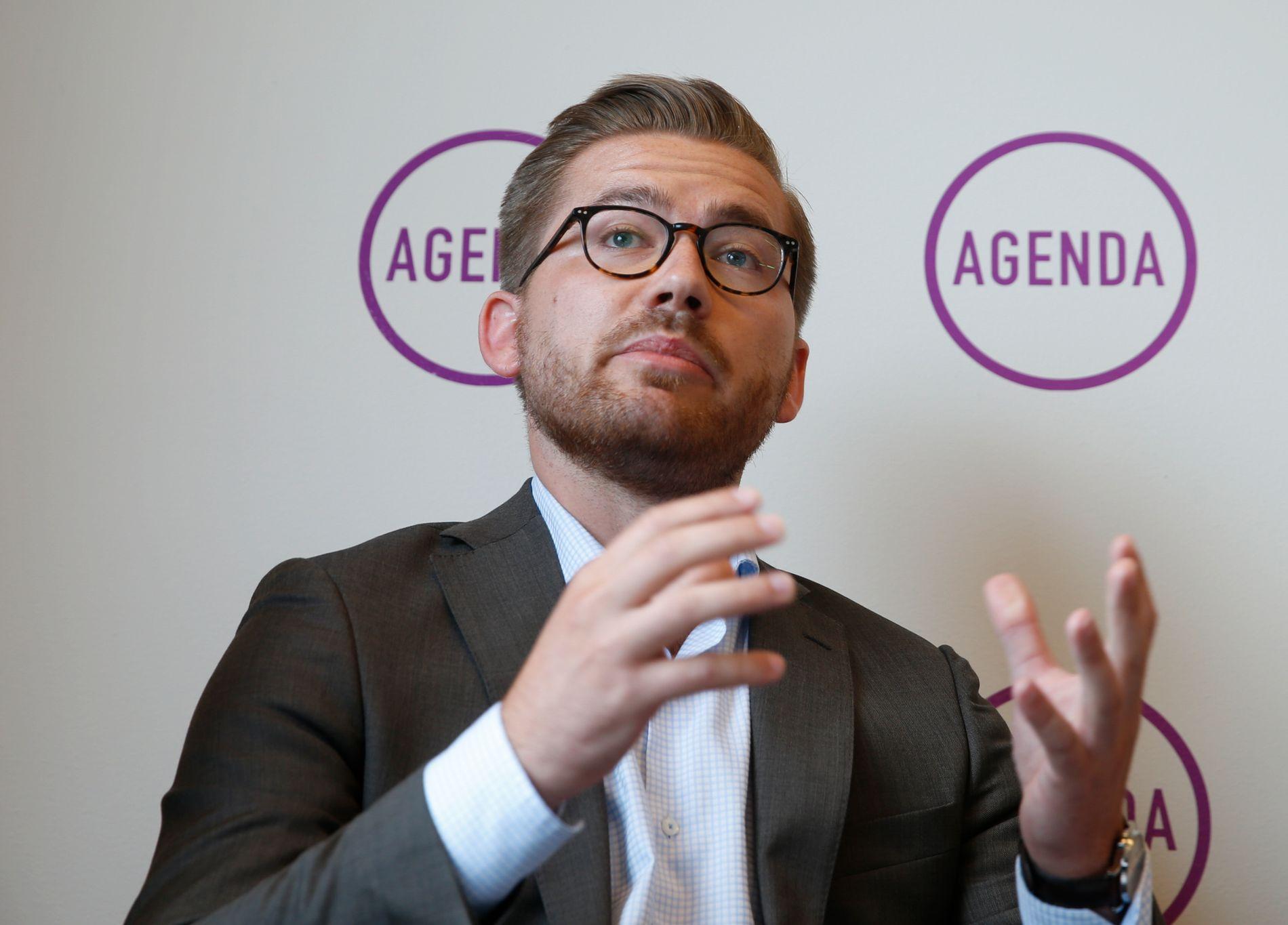 STØTTER: Sentralstyremedlem i Venstre, Sveinung Rotevatn, støtter forslaget fra Unge Venstre om å regulere narkotiske stoffer på en annen måte og vurdere salg i kontrollerte former.