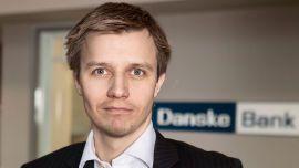 RESTRIKTIV: Kommunikasjonssjef Stian Arnesen i Danske Bank.